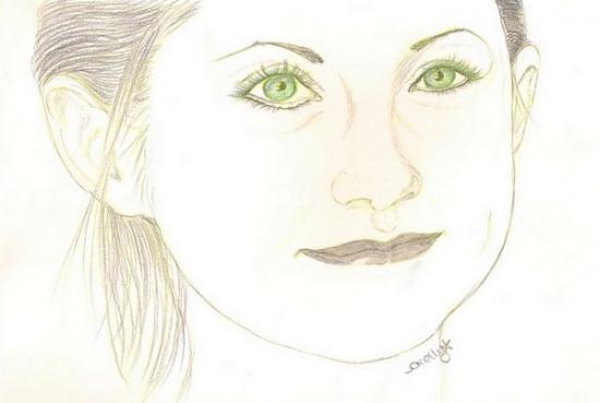 Bonnie Wright by OrellyA